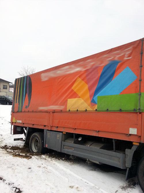 LKW-Bergung Wiesengasse