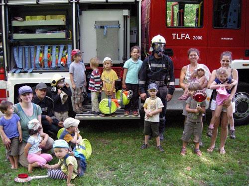 Besuch im Waldkindergarten