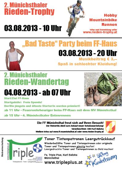 Flyer Kirtag 2013