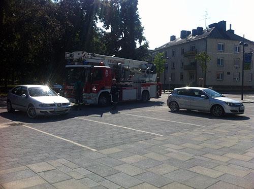 Brand im Schloss Wolkersdorf