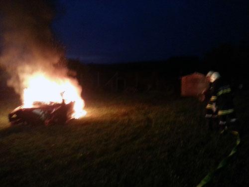 Technische Übung und Brandübung