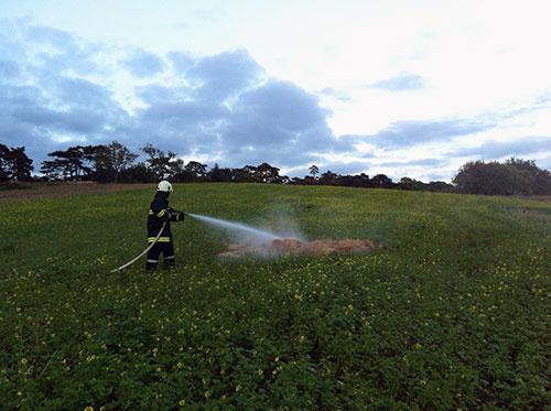 Unterabschnittsübung in Biomasse-Heizwerk