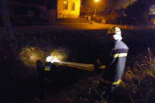 Brandeinsatzübung mit FF Pfösing