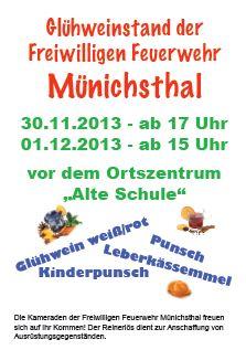 Glühweinstand der FF Münichsthal