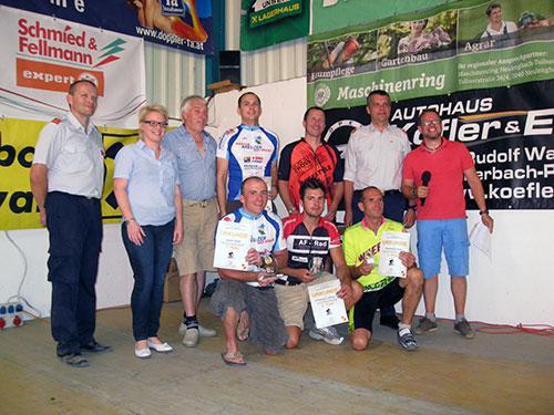 Stefan Pfaffl gewinnt NÖ MTB-Feuerwehrmeisterschaft