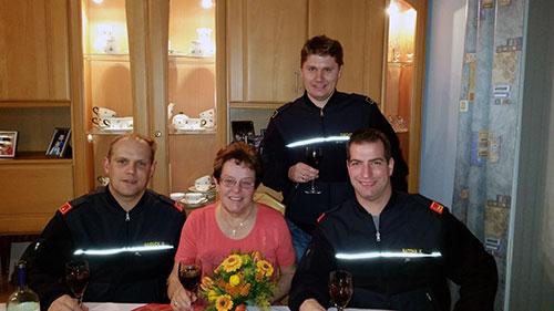 60. Geburtstag von Fahrzeugpatin Helga Haiduck
