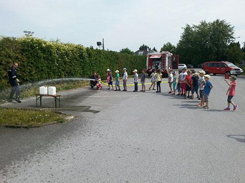 Besuch der Volksschule Wolkersdorf