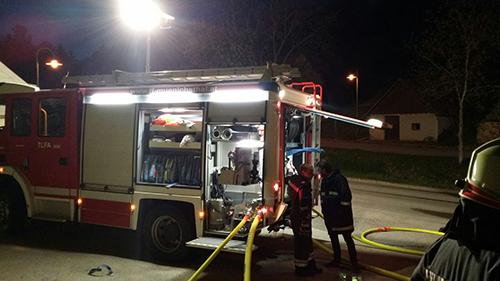 Branddienstübung