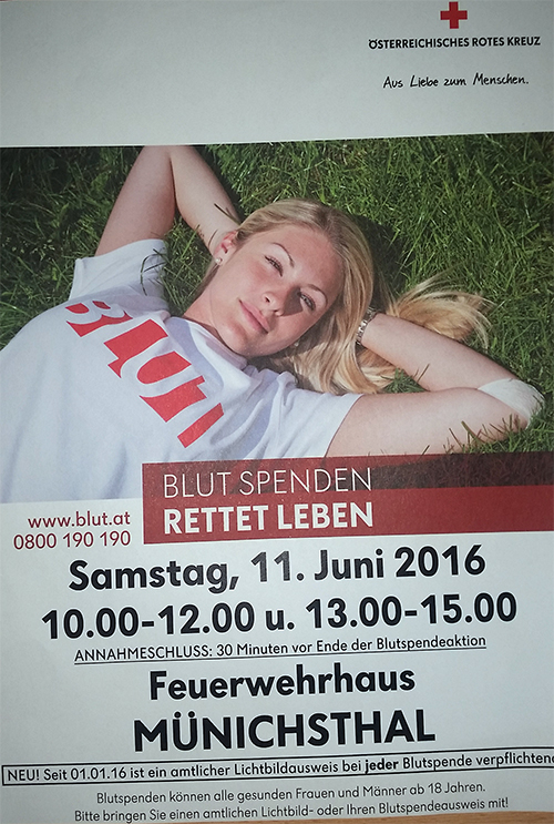 Blutspenden 2016