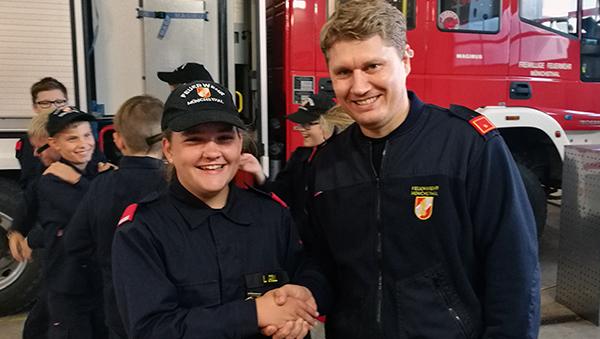 Lea Goll neue Gruppenkommandantin FF Jugend