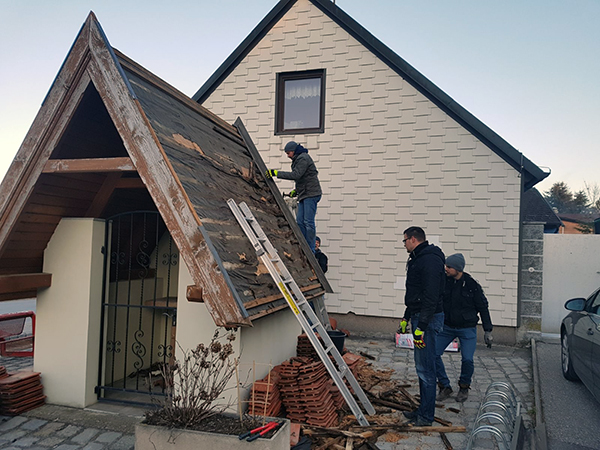 Renovierung Floriani-Kapelle