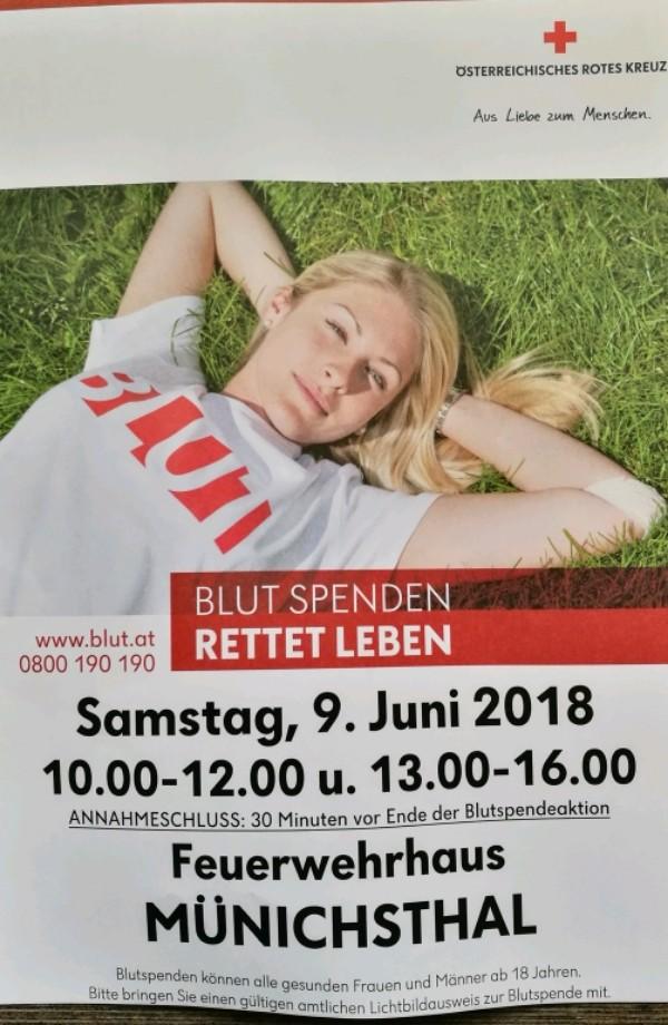 Blutspendeaktion 2018