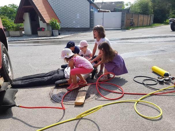 Der Kindergarten zu Besuch!