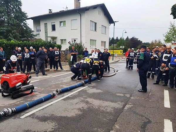 Stadtmeisterschaften Nasslöschwettkampf in Riedenthal
