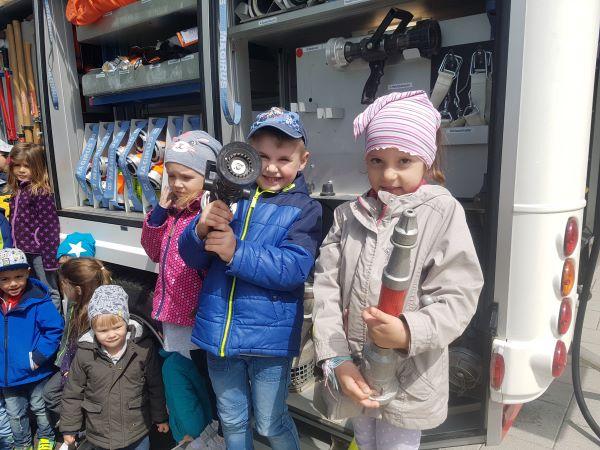 Besuch der Kindergartengruppen