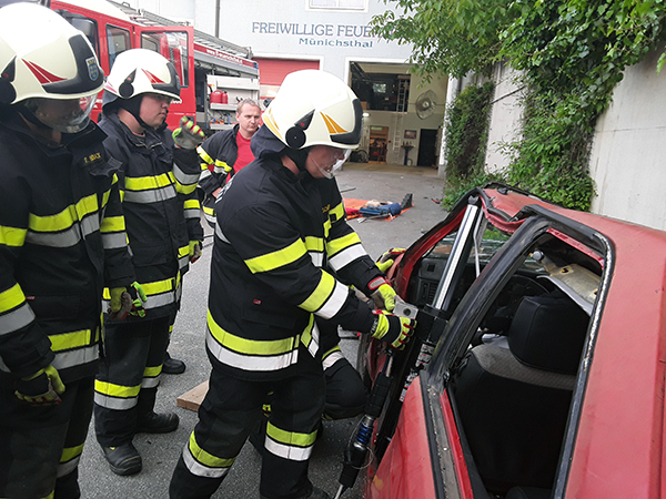 Technische Übung - Rettungssatz
