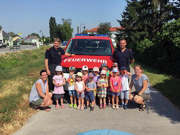 Besuch im Kindergarten Johannesgasse