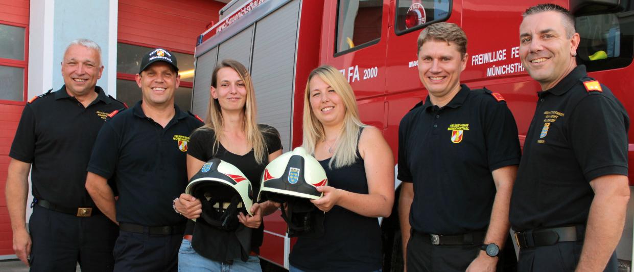 Erstmals Frauen im Aktivstand der FF Münichsthal