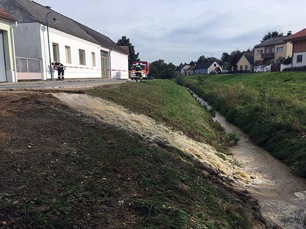 Wasserrohbruchserie EVN-Hauptleitung