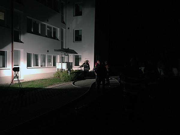 Brandeinsatz Badgasse in Wolkersdorf