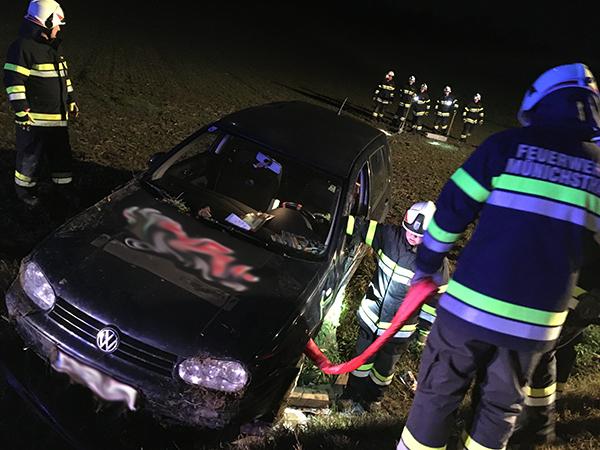 Verkehrsunfall auf L3107