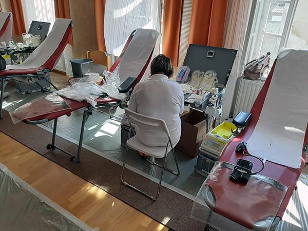 DANKE an 69 BlutspenderInnen
