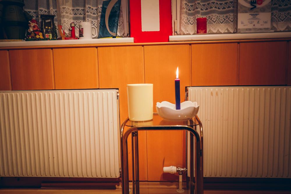 Abholung Friedenslicht + Frohe Weihnachten