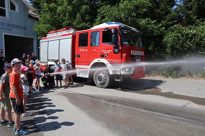 2c der Volksschule Wolkersdorf zu Besuch