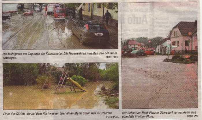 NÖN Woche 18/2008 - Hochwasser