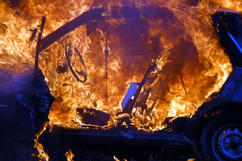 Brandeinsatzübung 05.06.2010