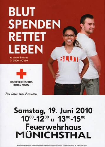 Blutspenden am 19.06.2010