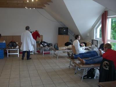 Danke fürs Blut spenden!