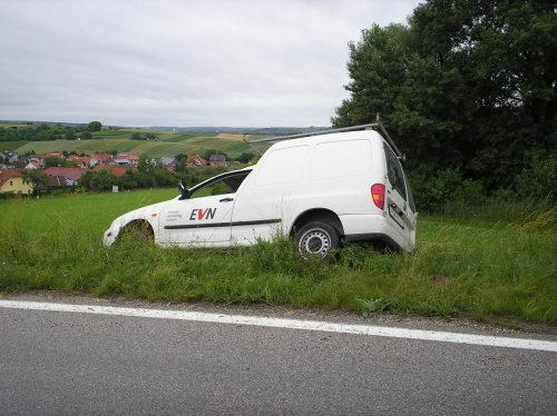 Wieder PKW-Bergung Richtung Großebersdorf