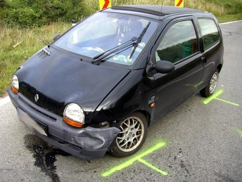 Verkehrsunfall L34 - Richtung Großebersdorf