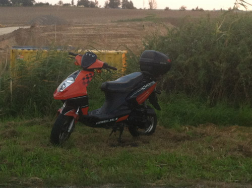 Vermeintlicher Motorrollerbrand!