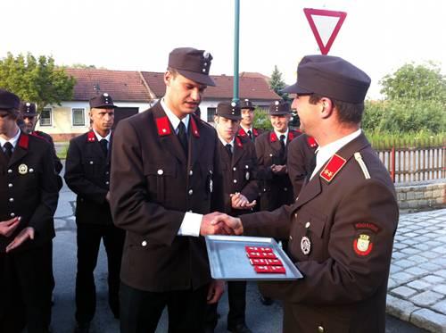 Florianimesse inkl. Prozession und Beförderungen