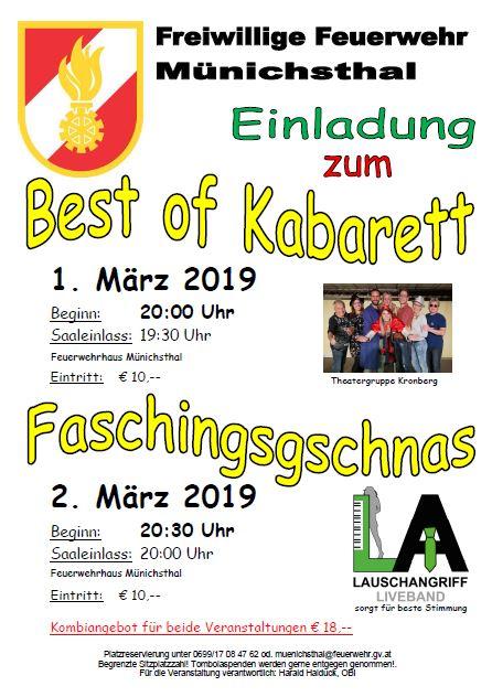 Gschnas und Best of Kabarett