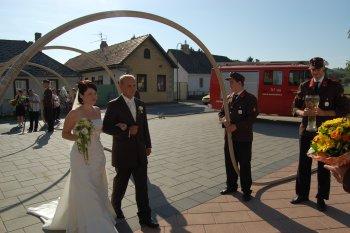 Hochzeit - Kommandant-Stv. traut sich!