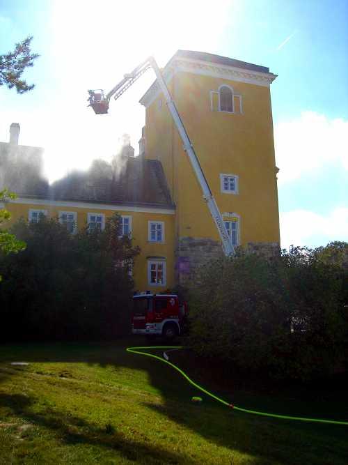Unterabschnittsübung 2011 - Schloss Wolkersdorf